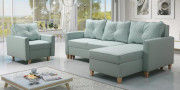 Moderno Bragi living Chaiselong og sovesofa