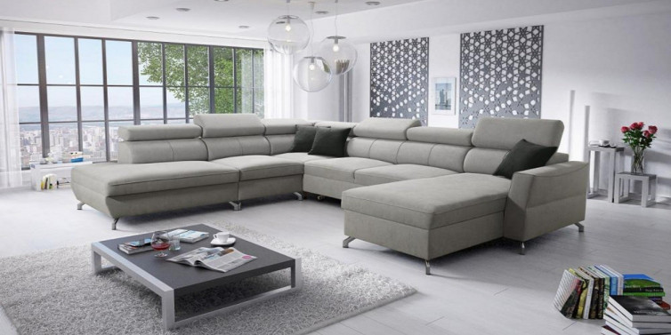 VENETO GRANDE OPEN-END U- SOFA