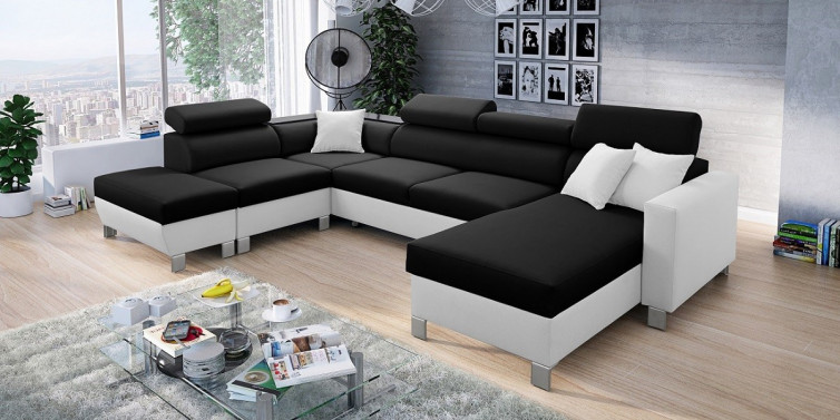 LORETTO GRANDE OPEN U- SOFA